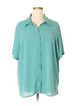 Joanna 3/4 Sleeve Blouse Size 3X (Plus)