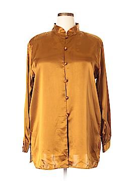 Christie & Jill Long Sleeve Blouse Size 2X (Plus)
