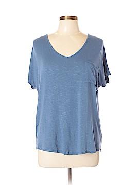 Pink Rose Short Sleeve T-Shirt Size L