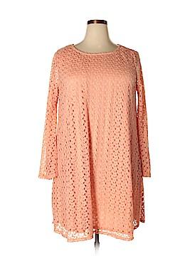 Pink Blush Casual Dress Size 2XL (Plus)