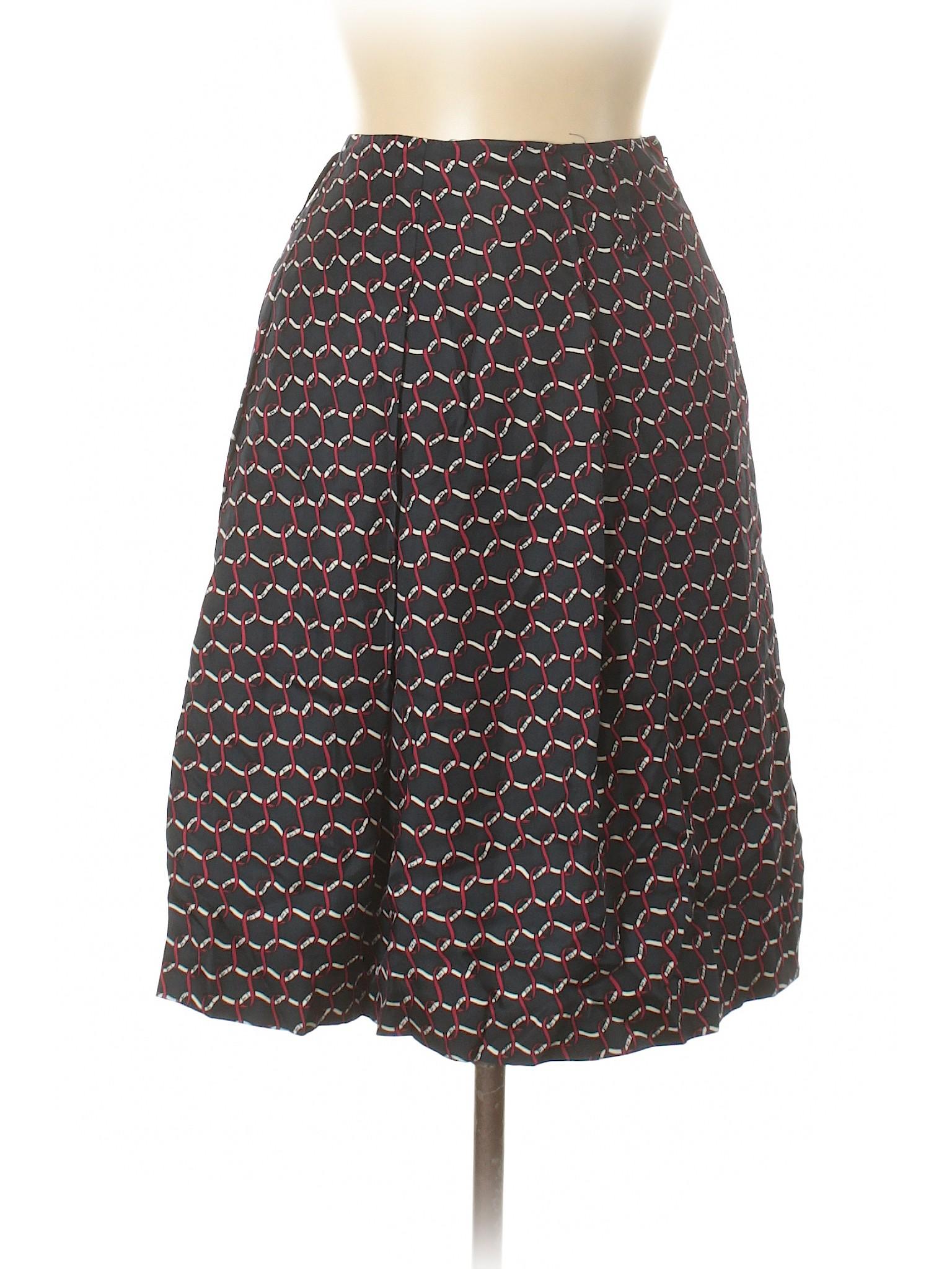 Silk leisure leisure Boutique Boutique Skirt Talbots Skirt Silk leisure Boutique Talbots fXZT1cZ