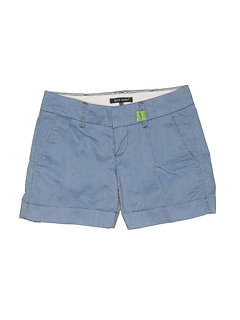Dear John Women Khaki Shorts 25 Waist