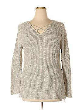 CB Pullover Sweater Size 2X (Plus)