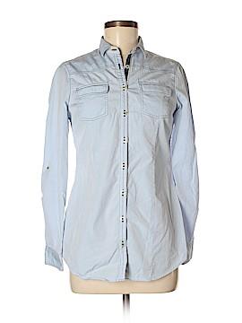 Massimo Dutti Long Sleeve Button-Down Shirt Size 38 (EU)