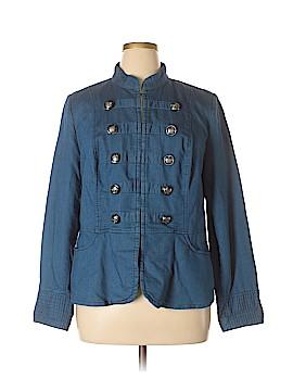 INC International Concepts Denim Jacket Size 1X (Plus)