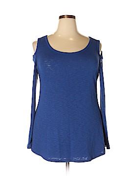 Laila Jayde Long Sleeve Top Size 2X (Plus)