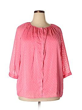 Apt. 9 3/4 Sleeve Blouse Size 2X (Plus)
