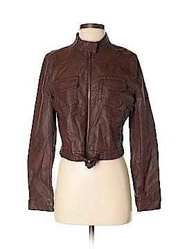 Converse Faux Leather Jacket Size M