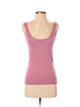 American Retro Sleeveless Silk Top Size 2