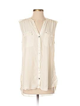 White House Black Market Sleeveless Silk Top Size M