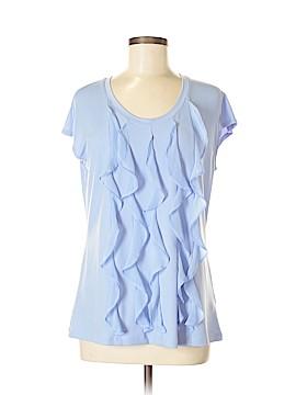 Simonton Says Short Sleeve Blouse Size M