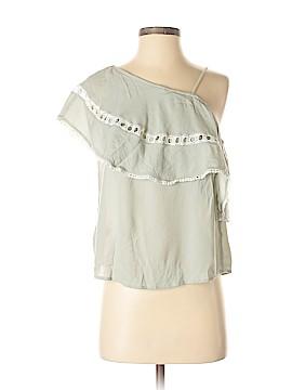 Sun & Shadow Short Sleeve Blouse Size XS