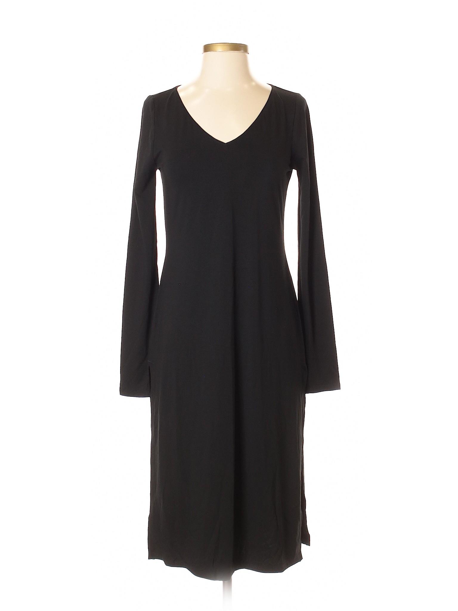 Market Boutique White winter Casual Dress House Black 0W0qcA6