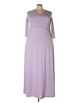 Pink Blush Casual Dress Size 3X (Plus)