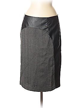 Mark Zunino Faux Leather Skirt Size 8