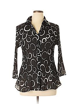 Sunny Leigh 3/4 Sleeve Blouse Size 0X (Plus)