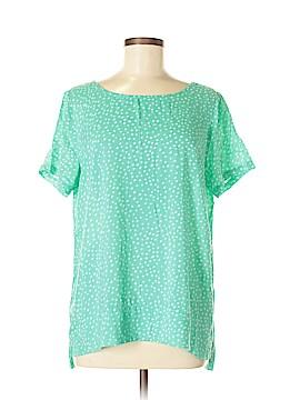 J.jill Short Sleeve Blouse Size M