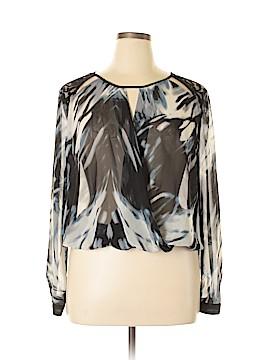 Bisou Bisou Long Sleeve Blouse Size XL