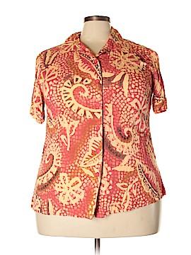 Fashion Bug Short Sleeve Blouse Size 18 - 20 (Plus)