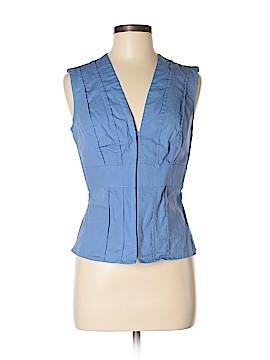 Moda International Short Sleeve Blouse Size M
