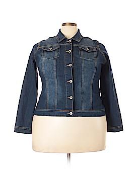 Revo Denim Jacket Size 2X (Plus)
