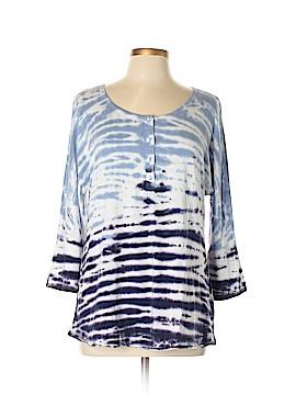 Calvin Klein 3/4 Sleeve Henley Size L