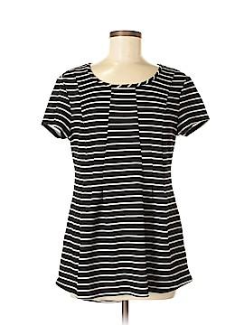 Cato Short Sleeve Blouse Size M