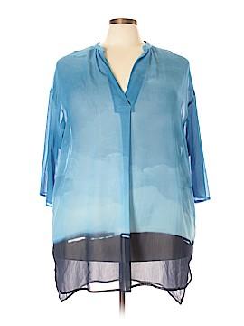 H By Halston 3/4 Sleeve Blouse Size 2X (Plus)