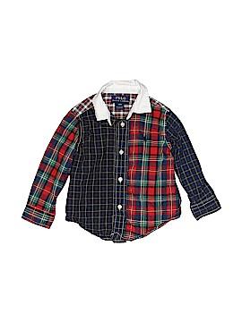 Polo by Ralph Lauren Long Sleeve Button-Down Shirt Size 18 mo