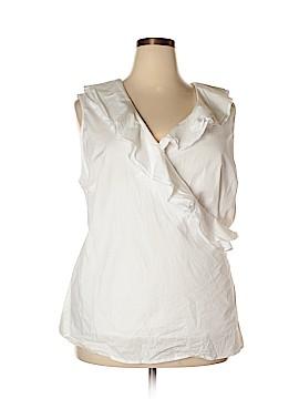 Jessica London Sleeveless Blouse Size 24 (Plus)