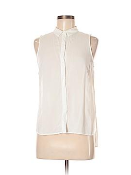 Bershka Sleeveless Button-Down Shirt Size M