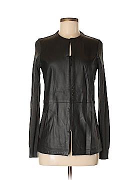 Etcetera Leather Jacket Size S