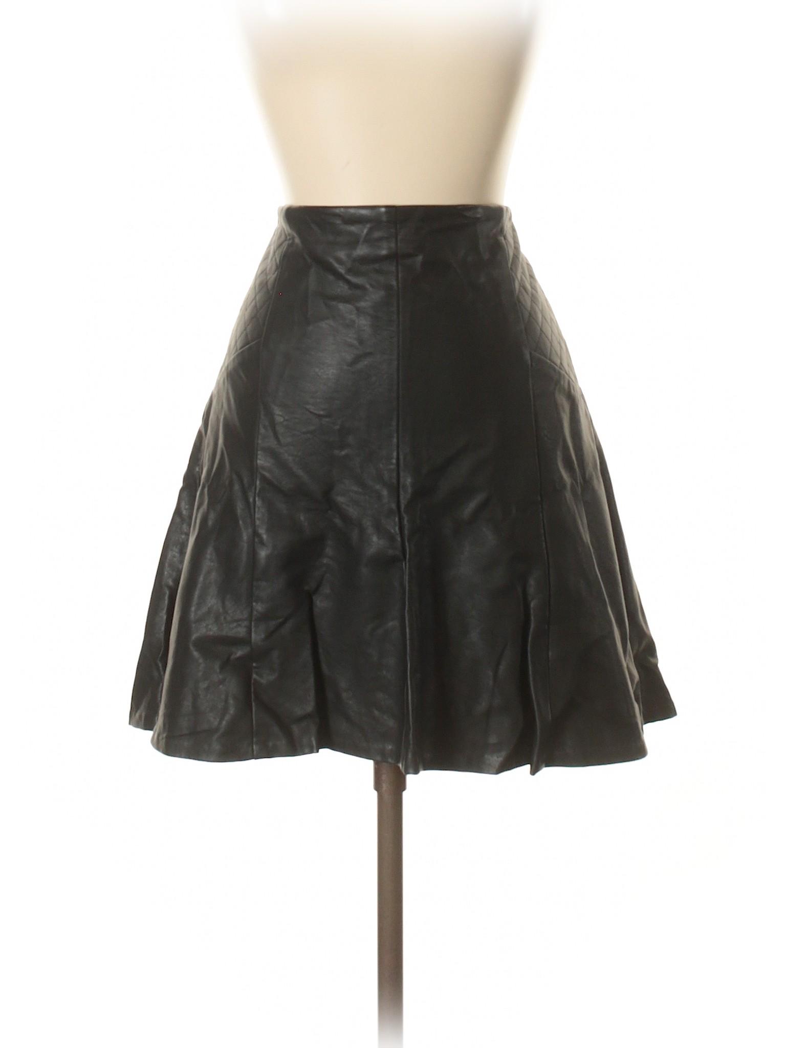 Boutique Leather Faux Faux Skirt Leather Boutique rPfqr7