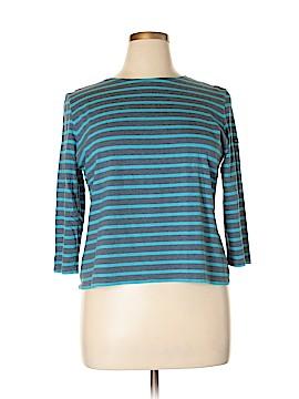 Saint James 3/4 Sleeve T-Shirt Size 14