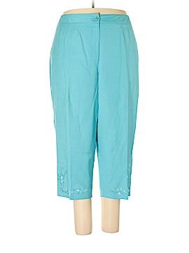 DressBarn Linen Pants Size 24 (Plus)