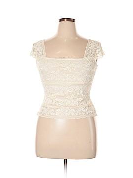 Neiman Marcus Short Sleeve Blouse Size L