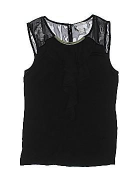 H&M Sleeveless Button-Down Shirt Size M