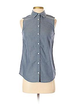 IZOD Sleeveless Button-Down Shirt Size XS