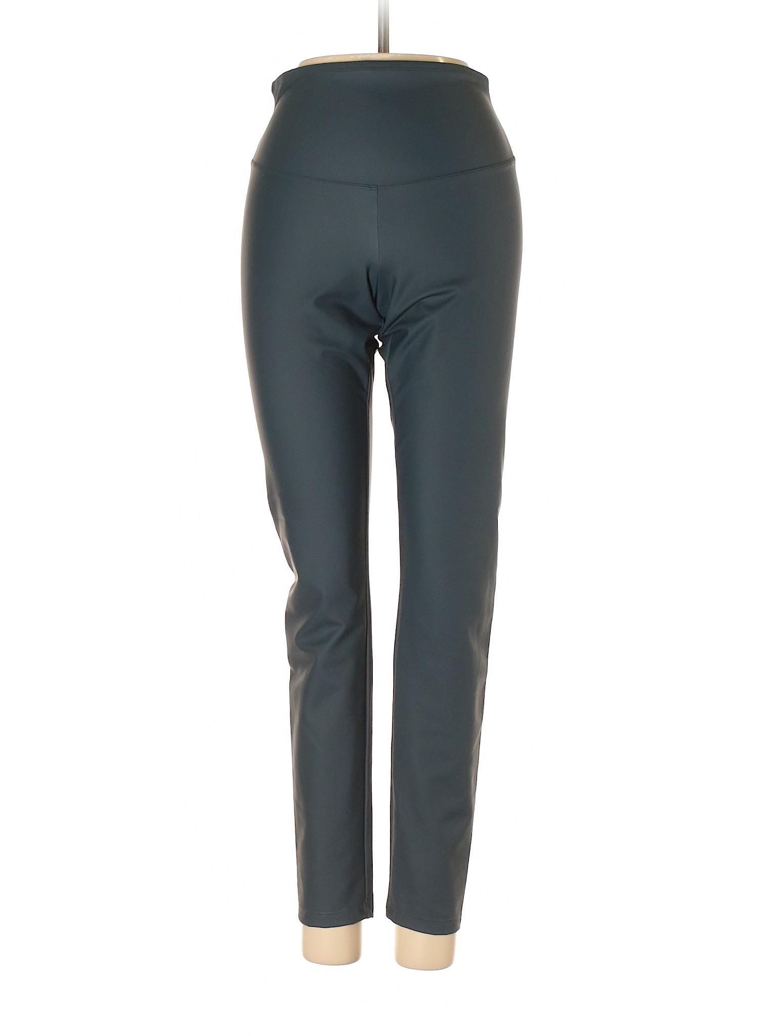 Faux Boutique Pants leisure Leather Yummie Tummie qSvSt