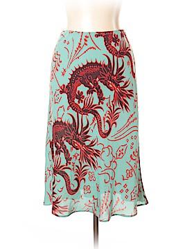 HARARI Silk Skirt Size L