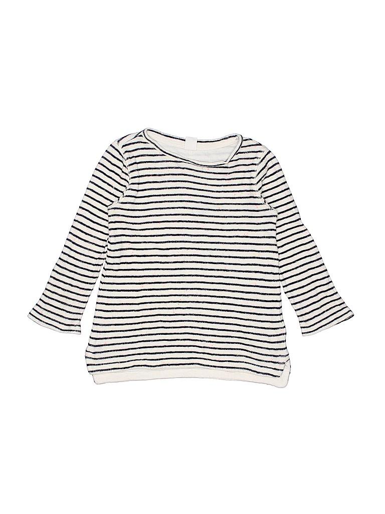 bce98495c Baby Gap 100% Cotton Stripes Dark Blue Pullover Sweater Size 4 - 60 ...