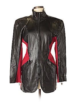 Cache Faux Leather Jacket Size 6