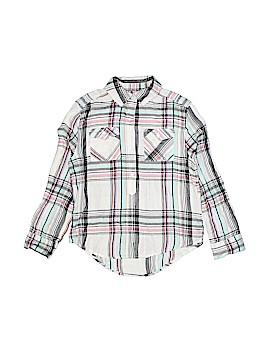 Mudd Girls Long Sleeve Button-Down Shirt Size 7/8