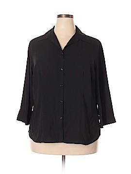 Covington Outlet 3/4 Sleeve Blouse Size 20 (Plus)