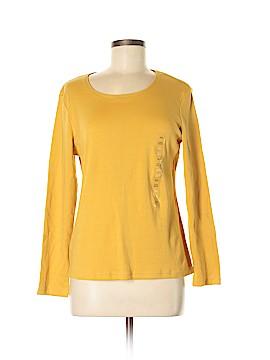 Karen Scott Long Sleeve T-Shirt Size M (Petite)