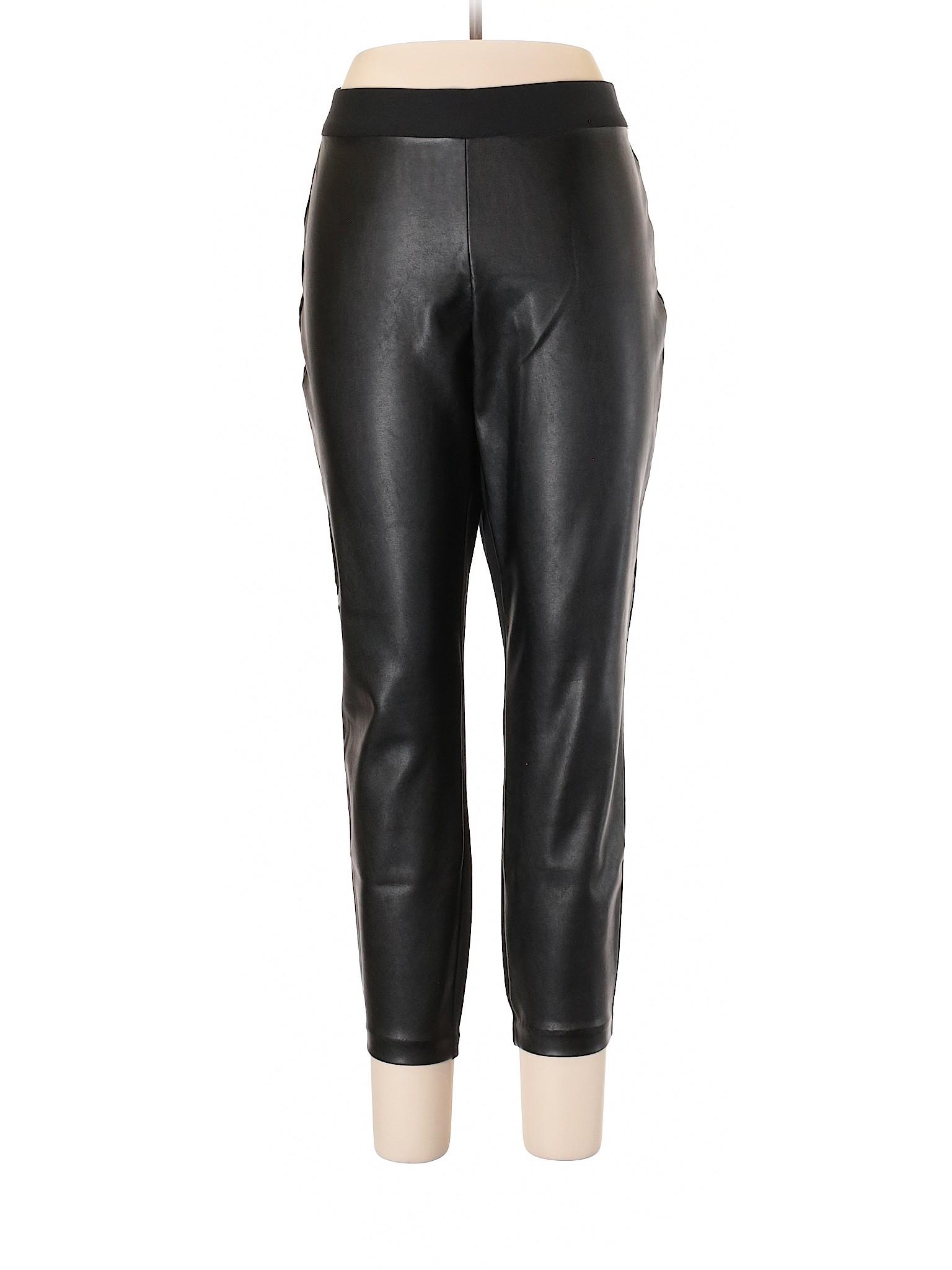 Leather Boutique Faux Pants Gap leisure qqYtwRO