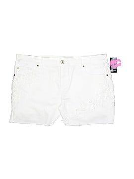 INC International Concepts Denim Shorts Size 16