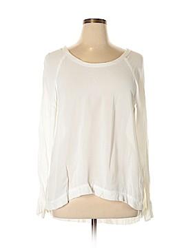 Left of Center Long Sleeve Blouse Size L