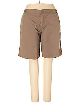 Mossimo Khaki Shorts Size 26 (Plus)