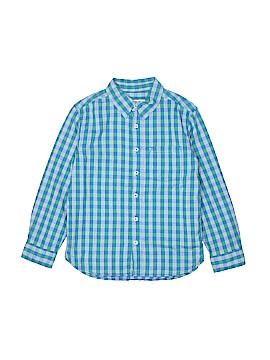 Cherokee Long Sleeve Button-Down Shirt Size 8 - 10